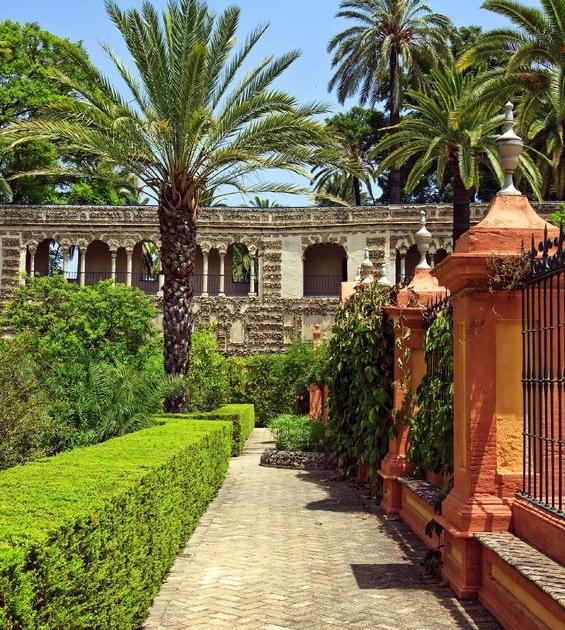 Garten im Alcázar